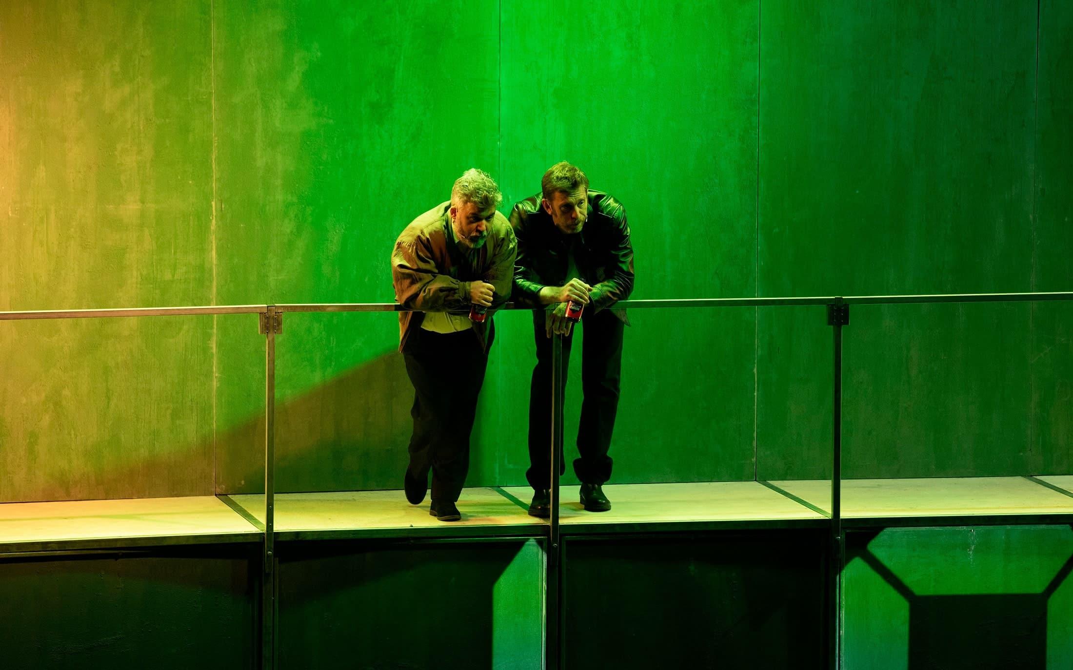 Marcos Pereiro y Sergio Zearreta en Fariña