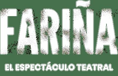 Logotipo de Fariña, el espectáculo teatral.